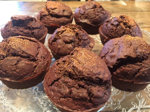 Muffins choco-betterave BD